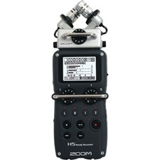 Zoom H5 4-Input / 4-Track Portable Handy Recorder w/Interchangeable Microphone System Including Sams