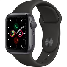 Apple Watch Series 5 40mm Black and Rose Gold color - GPS