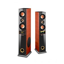 Audionic Cooper 9 Home Theater Speakers | Black & Brown