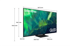 Samsung 65 Inches Q70A QLED 4K Smart TV (2021), Silver, QA65Q70AAUXZN